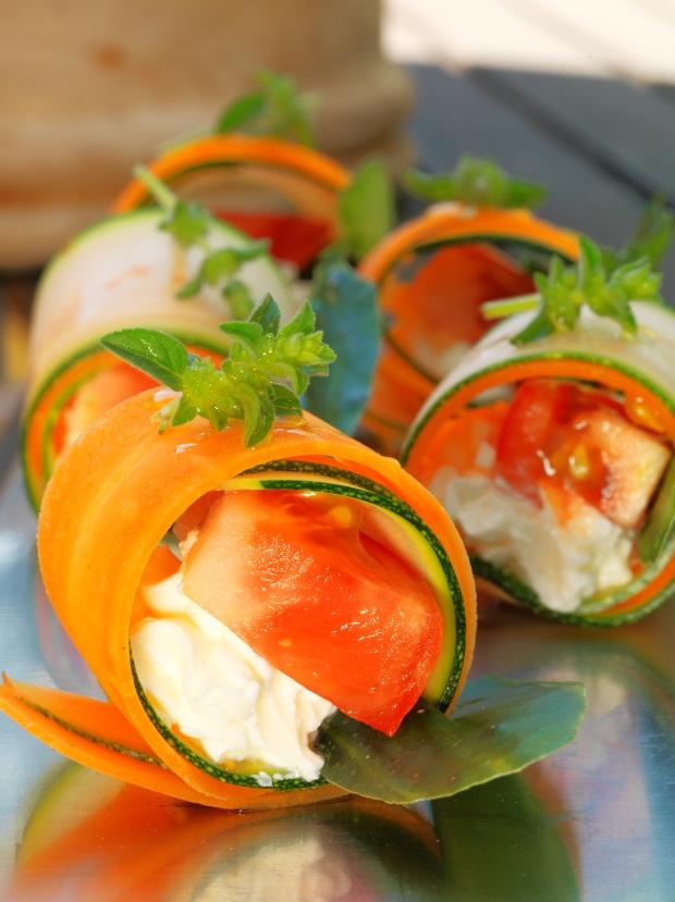 Salada mista tépida