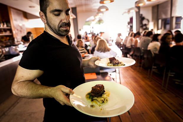 O almoço de apresentação da gastronomia do Trancoso decorreu no Spot São Luiz