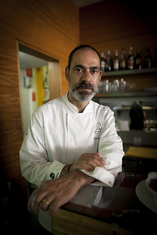 O chef Fausto Airoldi