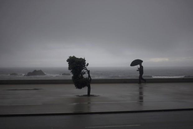 PORTUGAL, 16.06.2012. Durante uma tempestade em Vila do Conde