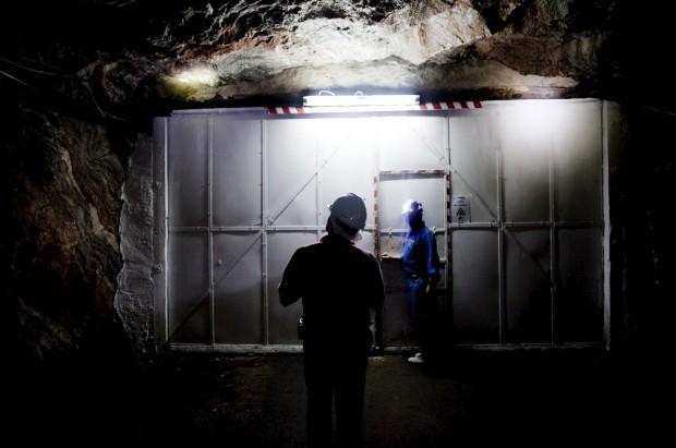 Na mina de sal de Loulé