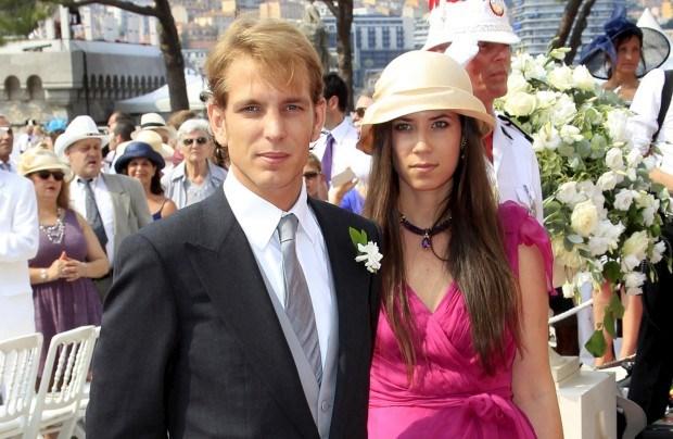 Andrea Casiraghie a noiva, Tatiana Santo Domingo