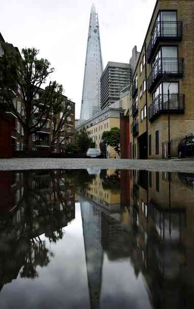 O reflexo do Shard