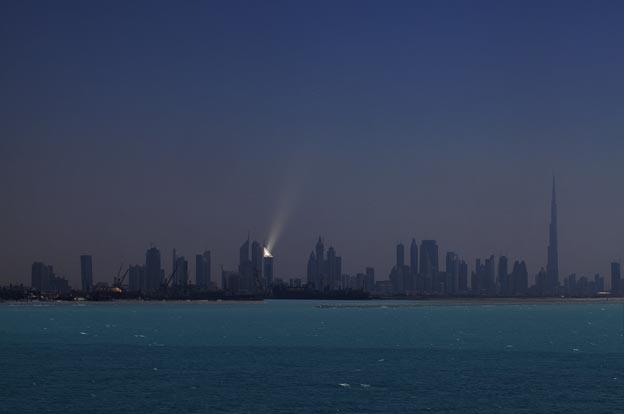 Dubai entre vento e ouro