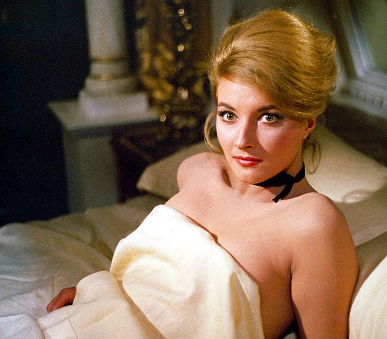 A actriz Daniela Bianchi no papel de Tatiana Romanova em From Russia With Love (1963)