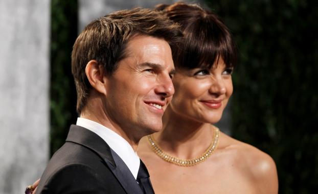 Katie Holmes e Tom Cruise: quase seis anos de casamento