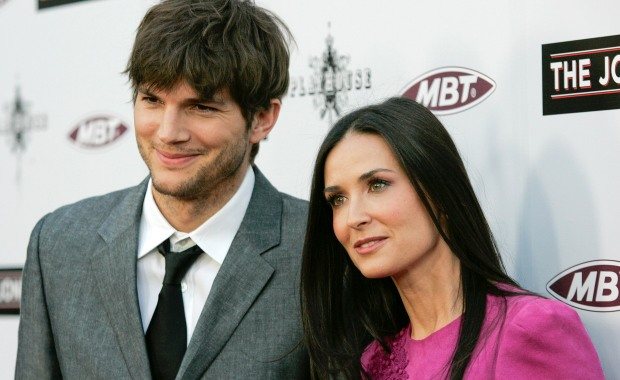 Demi Moore e Ashton Kutcher: o casamento durou sete anos