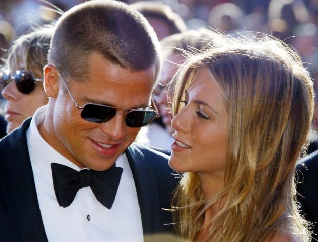 Brad Pitt e Jennifer Aniston: o casamento durou cinco anos