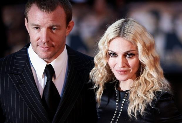 Madonna e Guy Ritchie: oito anos de casamento