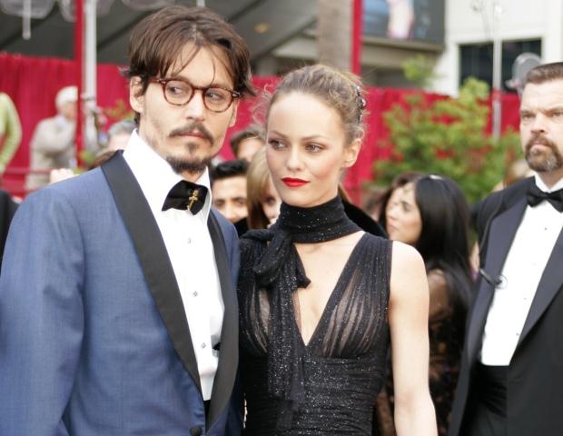 Vanessa Paradis e Johnny Depp: nunca casaram, mas a relação durou 14 anos