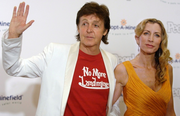 Paul McCartney e Heather Mills: seis anos de casamento