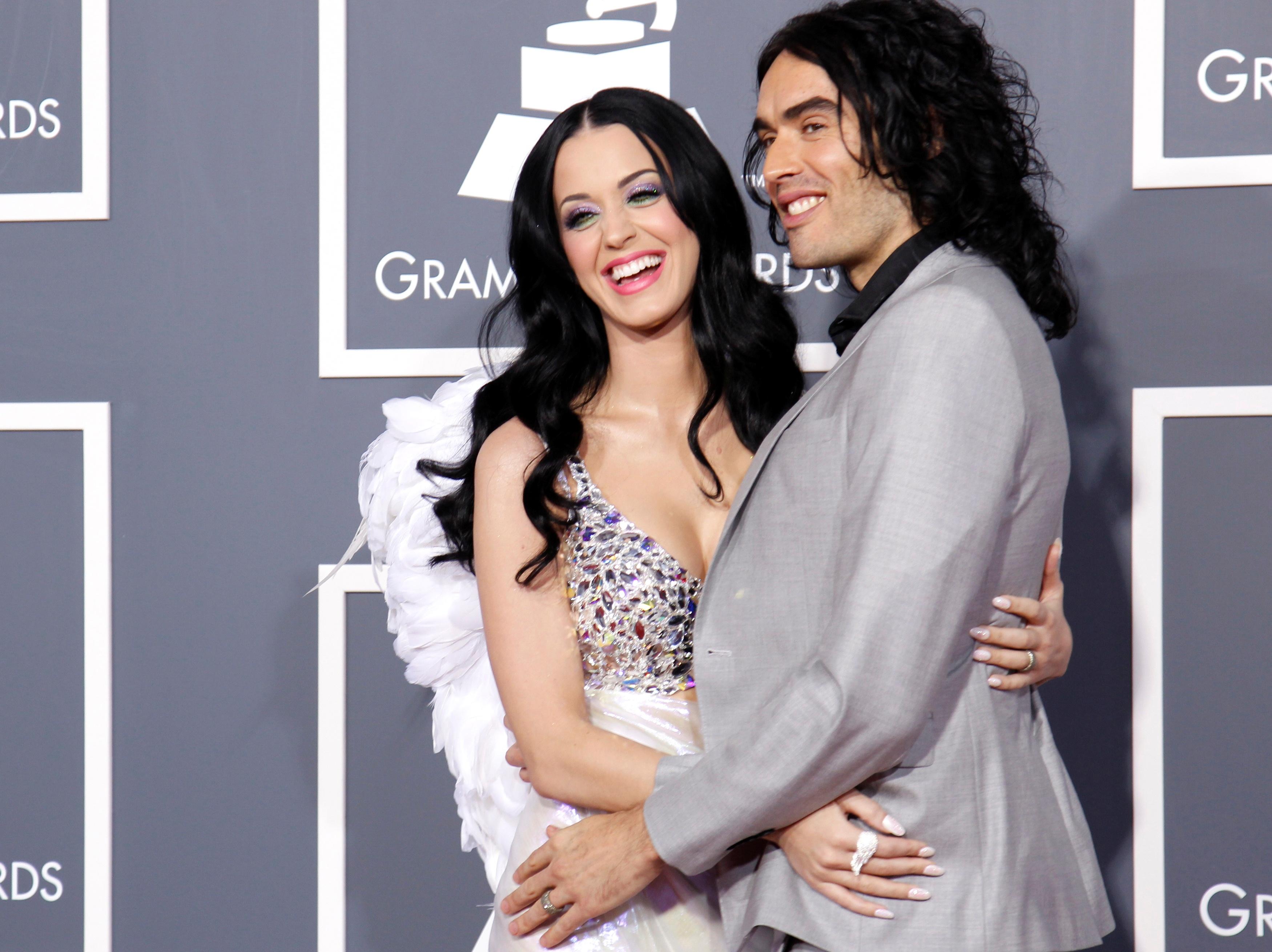 Katy Perry e Russell Brand: o casamento durou 14 meses