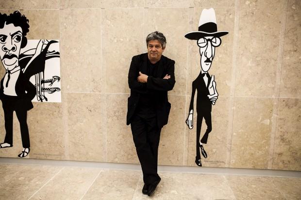 António, autor dos desenhos