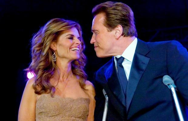 Arnold Schwarzenegger e Maria Shriver: o casamento de 25 anos terminou quando o actor assumiu a paternidade de um filho, fruto de uma relação extra-conjugal