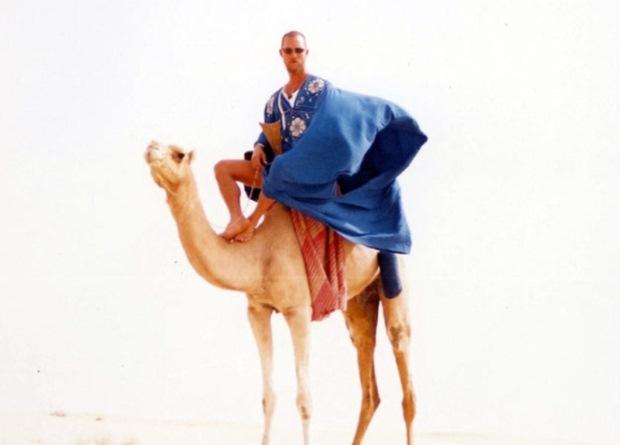 Num registo mais arábico, Matthew McConaughey não revelou aos seus seguidores a actual localização quando partilhou uma fotografia num camelo a 2 de Agosto.