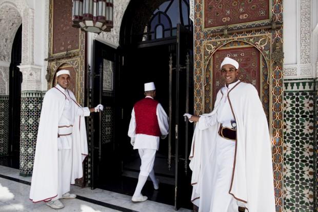 La Mamounia, o luxo mítico de Marraquexe