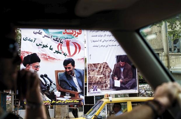 A passagem por Zanjan, Irão