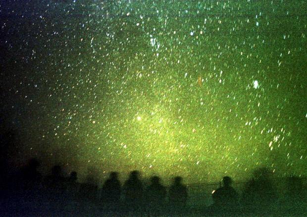 No deserto al-Azraq, perto de Amã, Jordânia. 12/08/2002