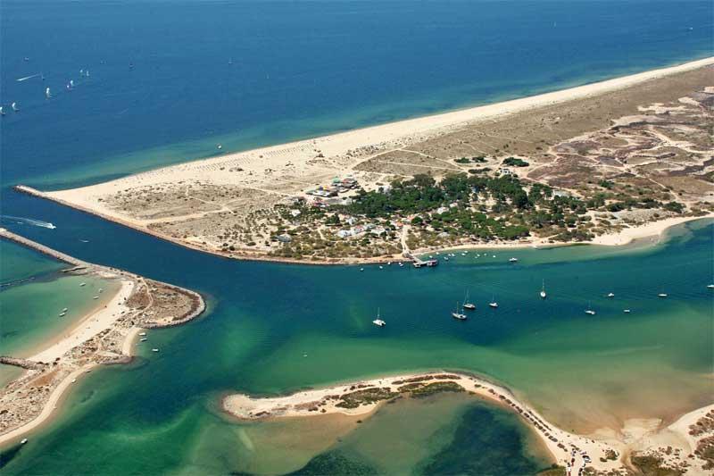 PRAIAS DE DUNAS. Praia da Ilha de Tavira - Tavira - Faro, Algarve