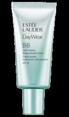 Daywear BB Creme Anti-Oxidante com SPF 35. Contém antioxidantes que ajudam a proteger a pele, adiando os sinais de envelhecimento prematuro. Tem SPF 35 e está disponível em duas tonalidades.
