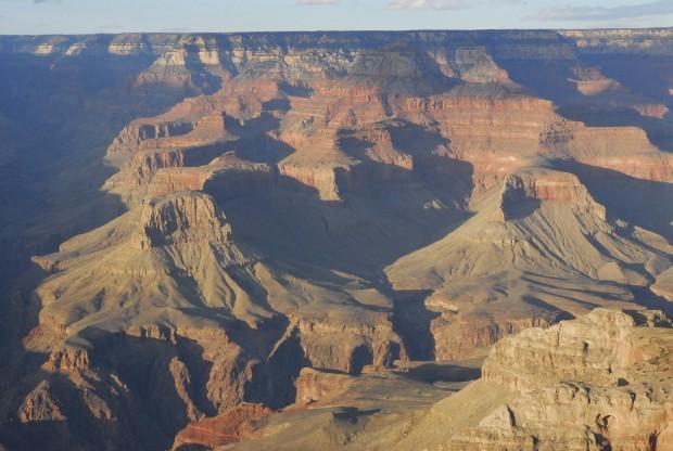 EUA, 27.08.2012. Grand Canyon numa imagem captada pela NASA