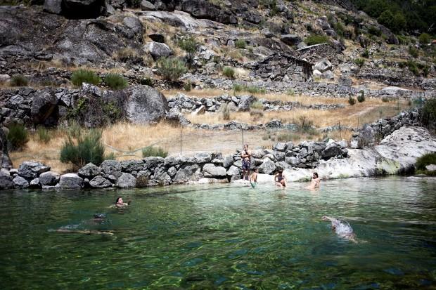 piscina natural de Loriga