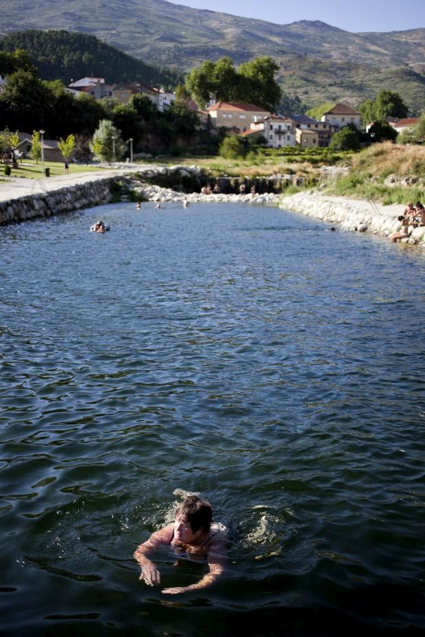 piscina natural de Unhais da Serra