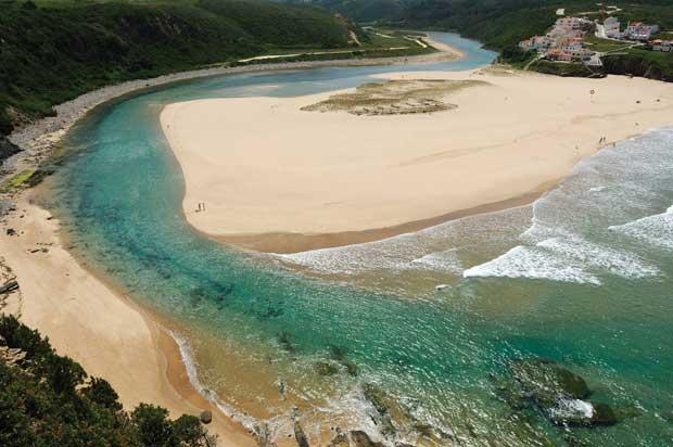 Praias de Arribas: Odeceixe. Aljezur - Faro, Algarve