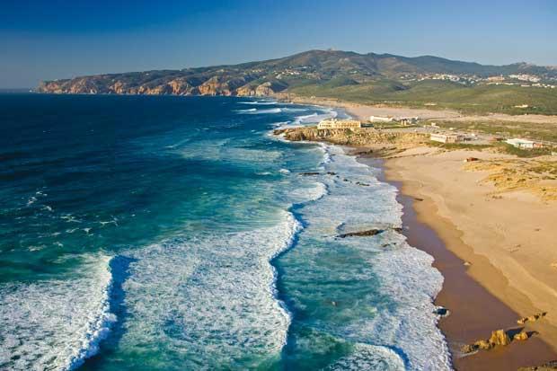 Praias de uso desportivo: Guincho, Cascais, Lisboa - Lisboa e Setúbal