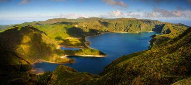 Praias Selvagens: Lagoa do Fogo. Ribeira Grande - São Miguel, Açores