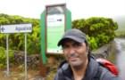 Nuno anda a dar a volta às ilhas dos Açores a pé