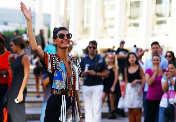 Giovanna Battaglia, editora da L'Uomo Vogue