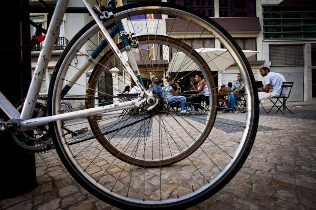 O café das bicicletas