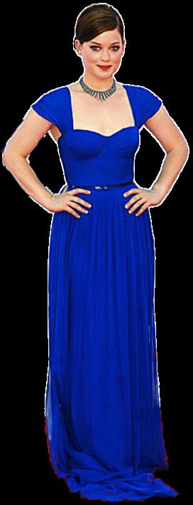 Apesar da silhueta clássica e esvoaçante, o tom azul-eléctrico ganha vivacidade na pele de Jane Levy. A jovem actriz de
