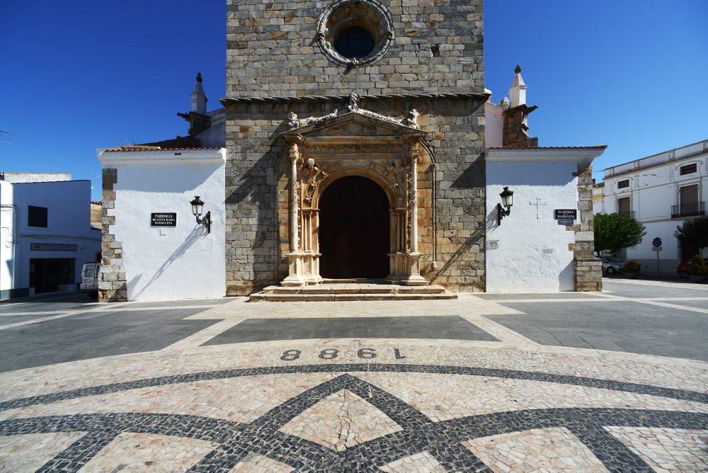 Madalena, ex-líbris português de Olivença