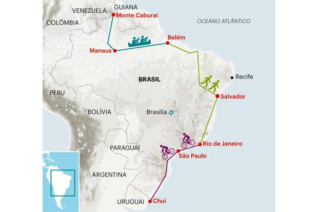 Dois Aventureiros Querem Ser Os Primeiros A Cruzar O Brasil Sem Usar