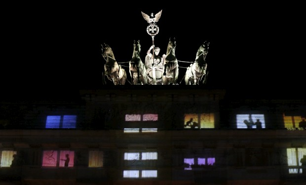 Na Porta de Brandemburgo