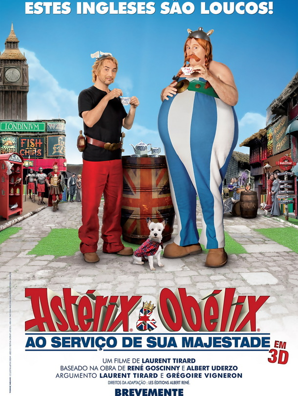 Asterix e Obelix A Serviço de sua Majestade (Dual Audio) DVDRip XviD