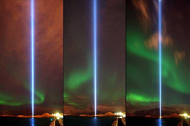 Imagem captada pela webcam na noite de 24 de Outubro