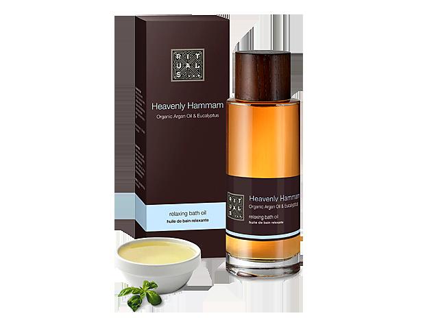 Um produto rico em óleo de argão orgânico que hidrata o corpo enquanto desliga a mente.
