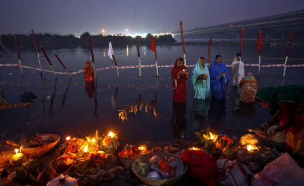 No rio Jamuna, Índia