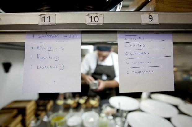 A cozinha do Belcanto