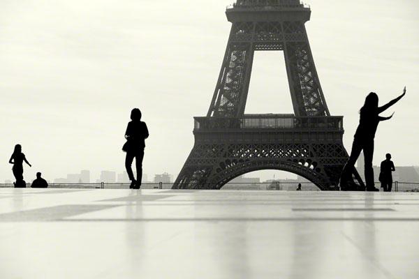 Parte do portefólio das silhuetas de Paris do vencedor do Travel Photographer of the Year 2012  - Cutty Sark Award: Craig Easton (Reino Unido)