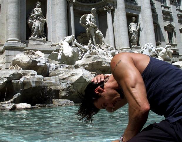 Na Fontana di Trevi