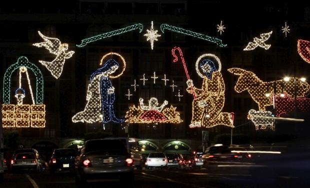 As decorações da Cidade do México