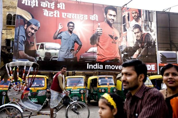 Em Varanasi, Índia
