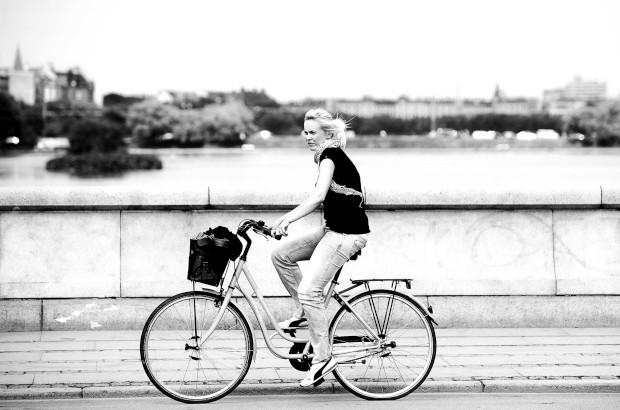 E a pedalar em Copenhaga