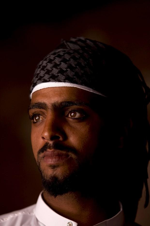 Beduíno habitante de Petra, na Jordânia