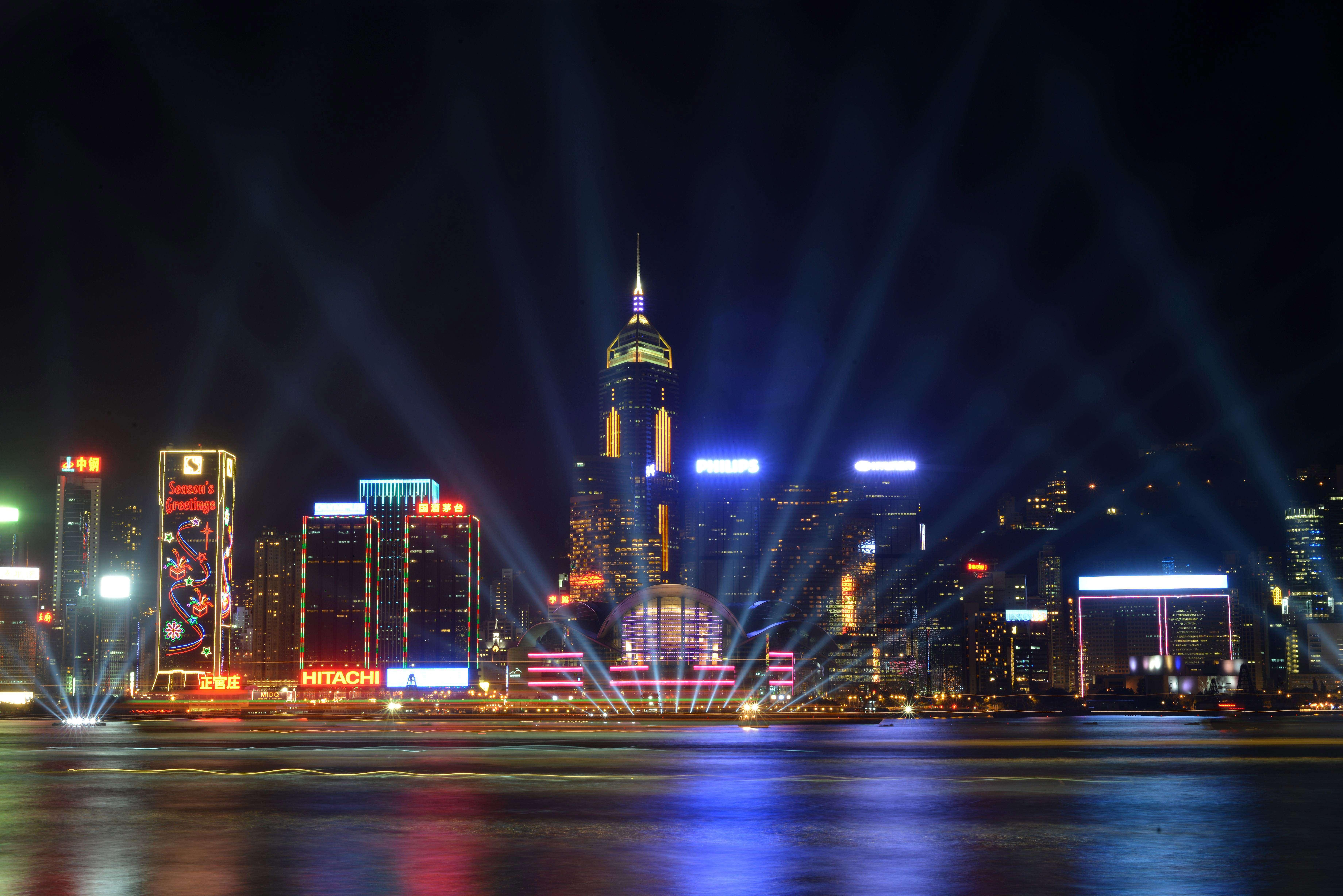 Hong Kong na noite de passagem de ano
