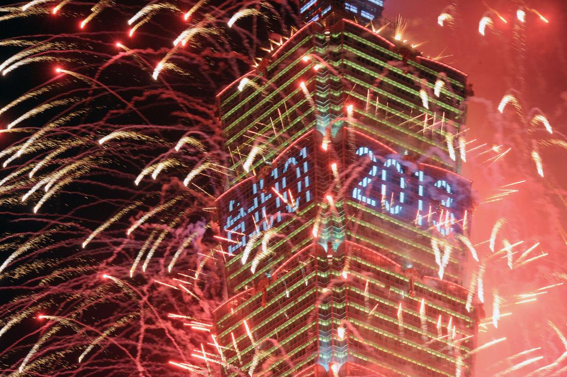 Em Taiwan, já se festeja o novo ano